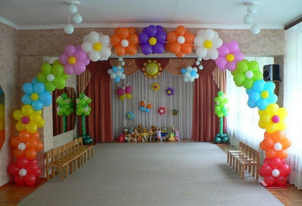 Оформление зала на выпускной в детском саду своими руками